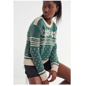 UO Winter Fair Isle Sweater